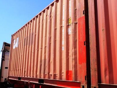 SHIPPING CONTAINERS 20ft ISO 38064