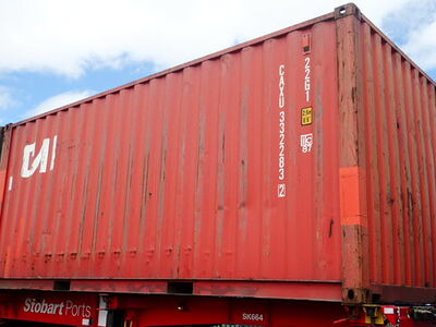 SHIPPING CONTAINERS 20ft ISO 54801