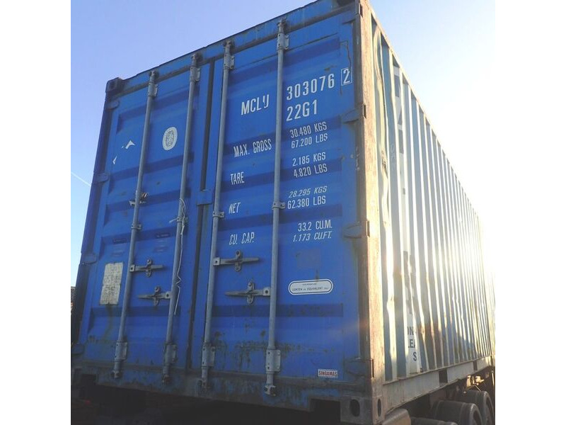 SHIPPING CONTAINERS 20ft S2 doors 44118 click to zoom image