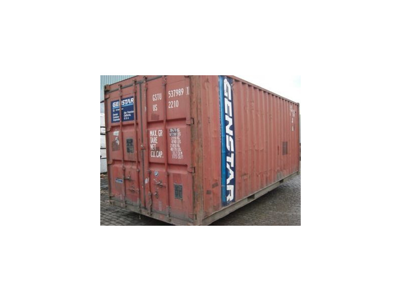 SHIPPING CONTAINERS 20ft ISO 61524 click to zoom image
