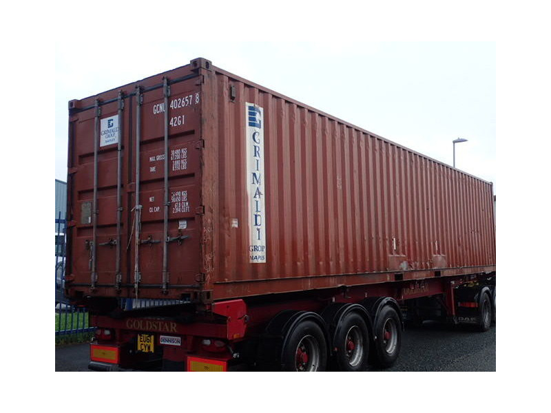 SHIPPING CONTAINERS 40ft ISO 30915 click to zoom image