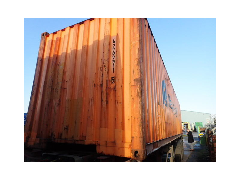 SHIPPING CONTAINERS 40ft original container 26721 click to zoom image