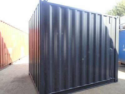 SHIPPING CONTAINERS 10ft S1 side doors CO100004 click to zoom image