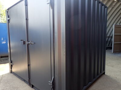 SHIPPING CONTAINERS 10ft S1 side doors CO100004