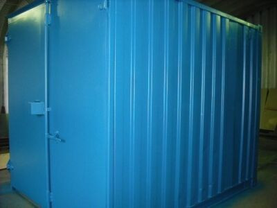 SHIPPING CONTAINERS 10ft S1 doors 28995