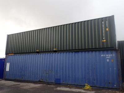 SHIPPING CONTAINERS 40ft ISO green MTBU4402614 click to zoom image