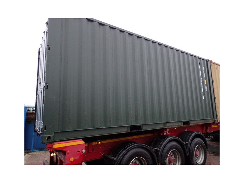 SHIPPING CONTAINERS 20ft ISO green MTBU2102876 click to zoom image