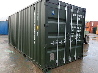 SHIPPING CONTAINERS 20ft ISO green MTBU2102829