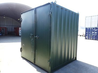 SHIPPING CONTAINERS 6ft x 8ft S1 doors 16403