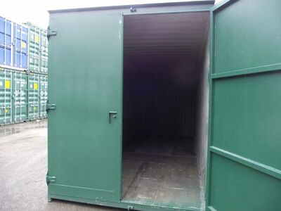 SHIPPING CONTAINERS 6ft x 8ft S1 doors