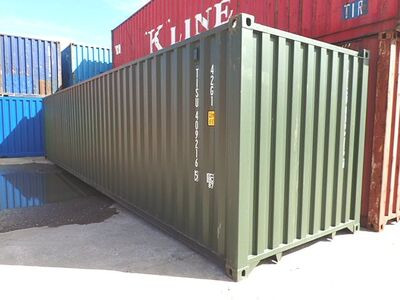 SHIPPING CONTAINERS 40ft ISO 31703