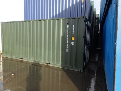 SHIPPING CONTAINERS 20ft green MTBU2102897