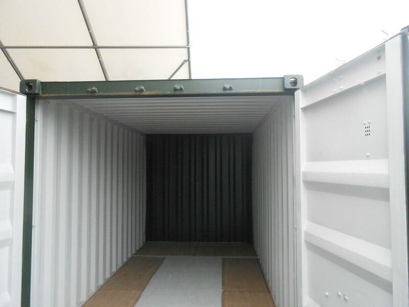 SHIPPING CONTAINERS 14ft S2 doors 40219 click to zoom image