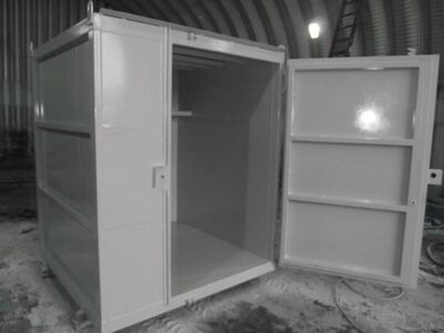 SHIPPING CONTAINERS 6ft x 6ft x 7ft tool vault 29512