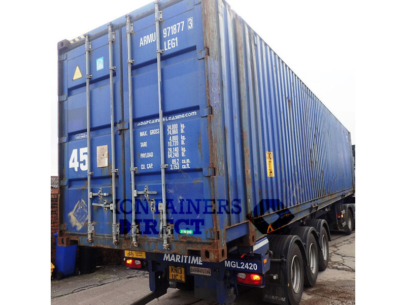 SHIPPING CONTAINERS 45ft high cube HCPW02 click to zoom image