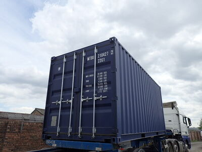 SHIPPING CONTAINERS 20ft ISO 27147