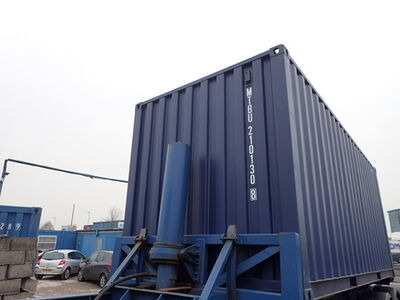 SHIPPING CONTAINERS 20ft ISO blue MTBU2101308