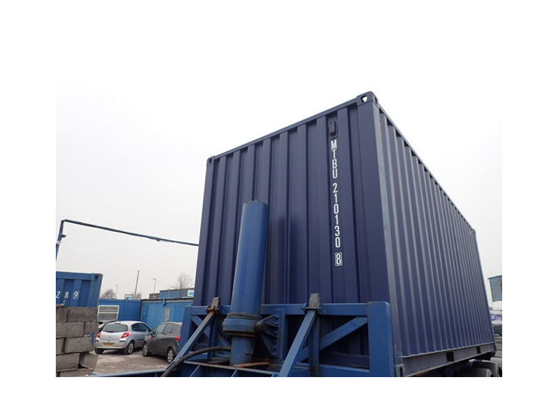 SHIPPING CONTAINERS 20ft ISO blue MTBU2101308 click to zoom image