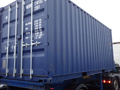 SHIPPING CONTAINERS 20ft ISO blue MTBU2101329