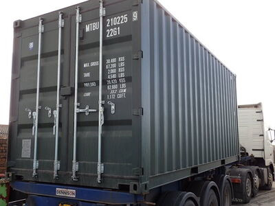 SHIPPING CONTAINERS 20ft ISO green MTBU102259