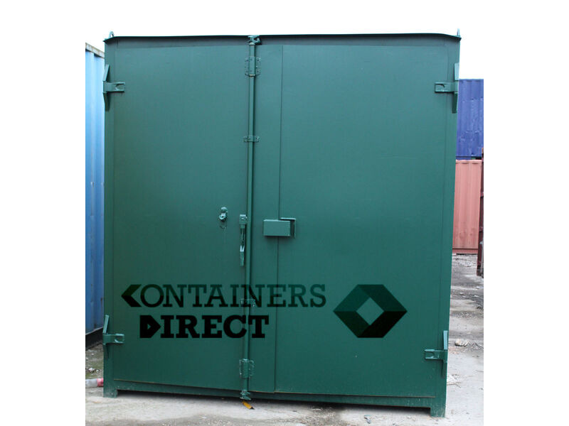 SHIPPING CONTAINERS 20ft S1 doors click to zoom image