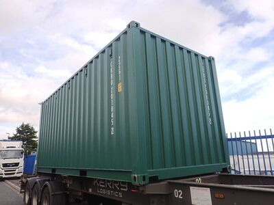 SHIPPING CONTAINERS 20ft ISO 41546 click to zoom image