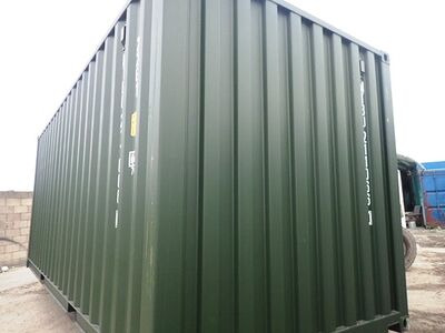 SHIPPING CONTAINERS 20ft ISO green MTBU2110660 click to zoom image