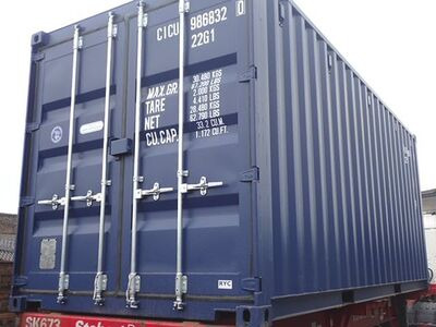 SHIPPING CONTAINERS 20ft ISO 31385