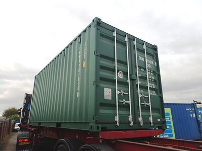 SHIPPING CONTAINERS 20ft ISO 38175