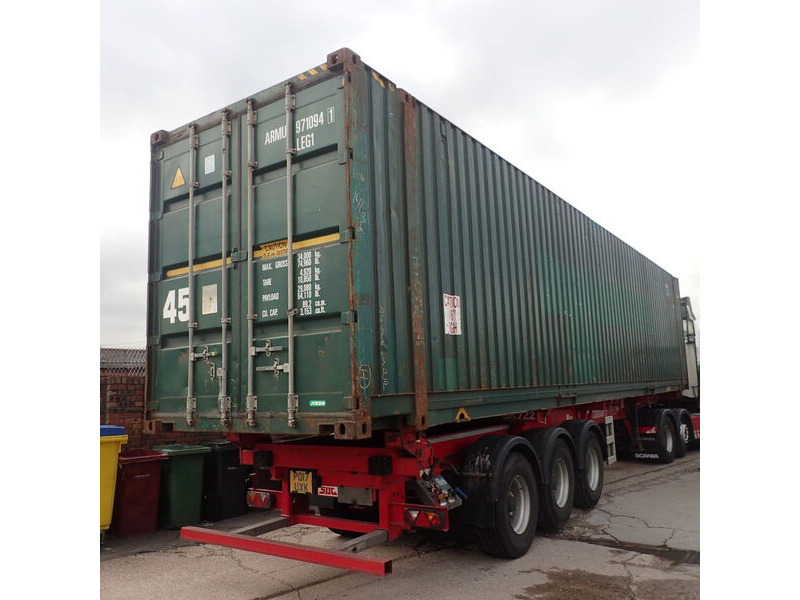 SHIPPING CONTAINERS 20ft Lincoln 64113 click to zoom image