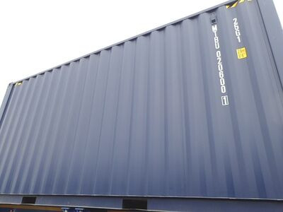 SHIPPING CONTAINERS 20ft ISO green MTBU0206001 click to zoom image