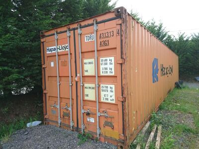 SHIPPING CONTAINERS 40ft ISO Cornwall 24717