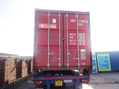 SHIPPING CONTAINERS 40ft original 57437