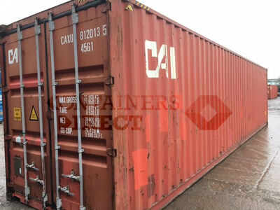 SHIPPING CONTAINERS 40ft ISO 53918