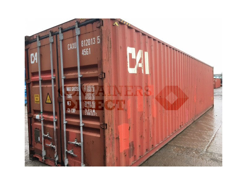 SHIPPING CONTAINERS 40ft ISO 67479 click to zoom image