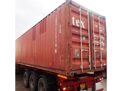 SHIPPING CONTAINERS 40ft Original doors 40248