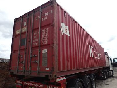 SHIPPING CONTAINERS 40ft original 40243