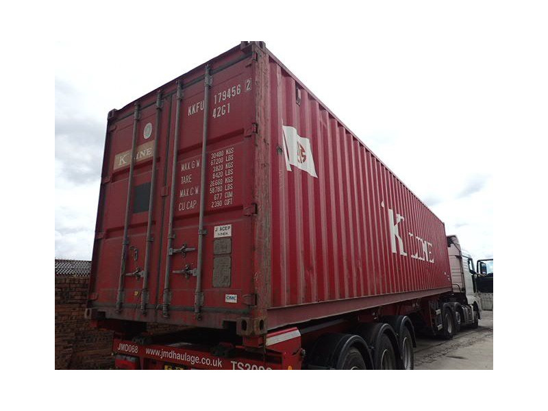 SHIPPING CONTAINERS 40ft original 40243 click to zoom image