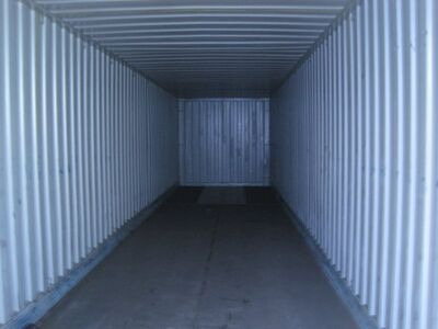 SHIPPING CONTAINERS Pallet Wide 40ft Container 871