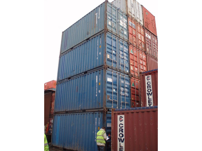 SHIPPING CONTAINERS 20ft ISO Manchester click to zoom image