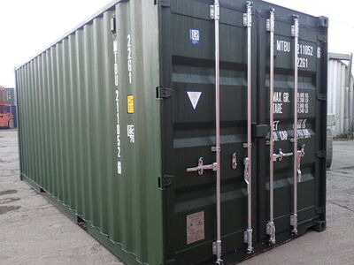 SHIPPING CONTAINERS 20ft ISO green MTBU2110526