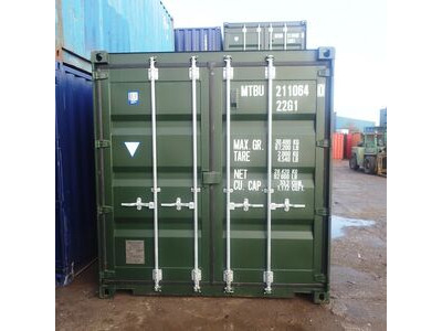 SHIPPING CONTAINERS 20ft green 41556