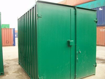 SHIPPING CONTAINERS 10ft S1 doors 13612