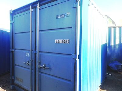 SHIPPING CONTAINERS 10ft S2 doors 33938