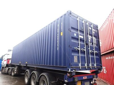 SHIPPING CONTAINERS 40ft ISO blue MTBU4006357