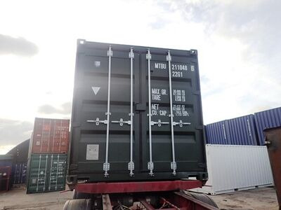 SHIPPING CONTAINERS 20ft ISO green MTBU2110486