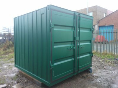 SHIPPING CONTAINERS 8ft S2 doors 67660
