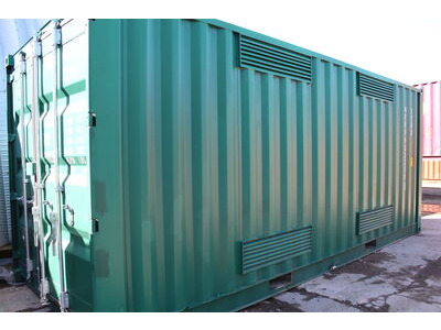 SHIPPING CONTAINERS 20ft Falcon chemical store HL31 click to zoom image