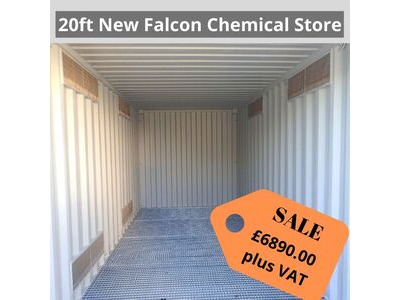 SHIPPING CONTAINERS 20ft Falcon chemical store HL31
