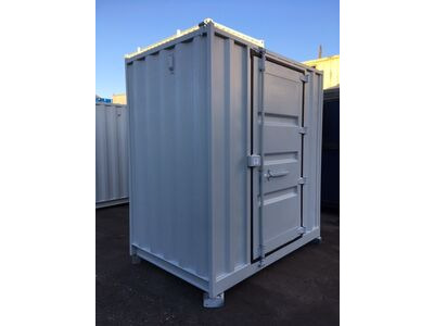 SHIPPING CONTAINERS 8ft x 5ft with personnel door  63984